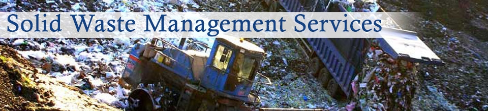 Products : Solid Waste Management Services